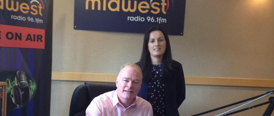 Orlagh Sharkey discussing Family Law on Radio Midwest