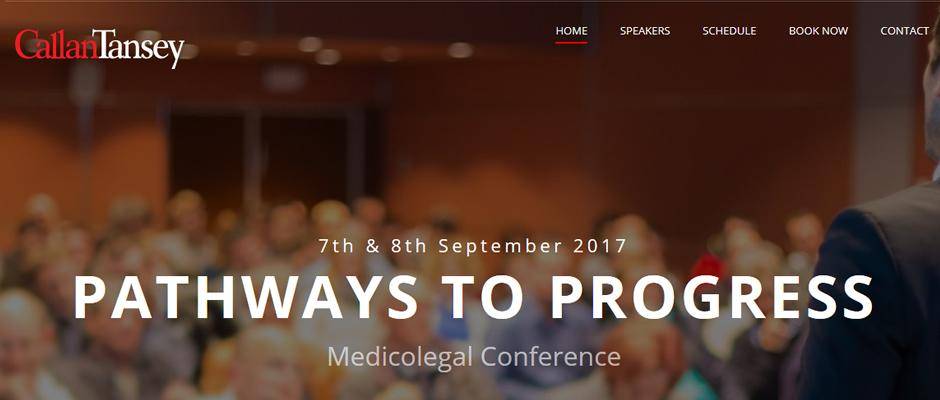 Pathways to Progress Medicolegal Conference