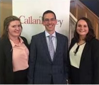Aileen Fitzmaurice & Rebecca McKittrick Interns with Roger Murray