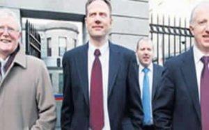 Arthur, Kieran and John Grady