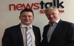 David O Malley with Pat Kenny on Newstalk