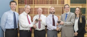 Partners from Callan Tansey celebrating 50 years combined experience