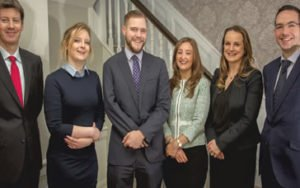 Avril Flannery, Johan Verbruggen, Niamh Ni Mhurchu, Brian Gill, Roger Murray, Amy Kelly from Callan Tansey Solicitors