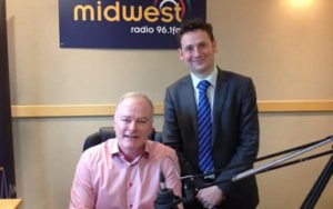 David O'Malley with Tommy on MidWest Radio