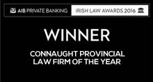 Winner Connaught Provincial Law Firm of the Year logo