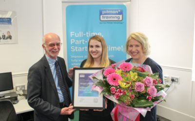 Callan Tansey Secretary, Abby Livingstone, receives Distinction in Legal Secretary Diploma