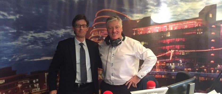 Brian Gill talks to Pat Kenny on Newstalk 106 regarding Compensation Cases