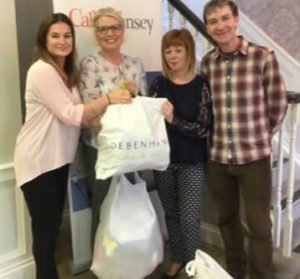 Callan Tansey staff helping Enable Ireland