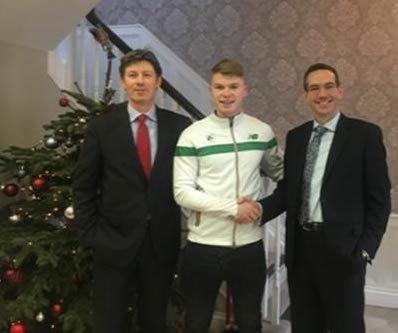 Irish Sprinter, Kieran Elliott
