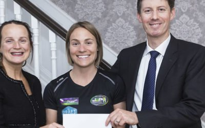 Callan Tansey Sponsor local girl Laura Tighe on her road to Tokyo 2020