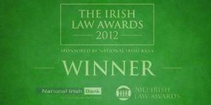 Logo for Irish Law Awards Winner Callan Tansey 2012