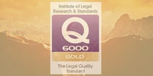 Logo Insitute of Legal Research & Standards Q6000 Gold