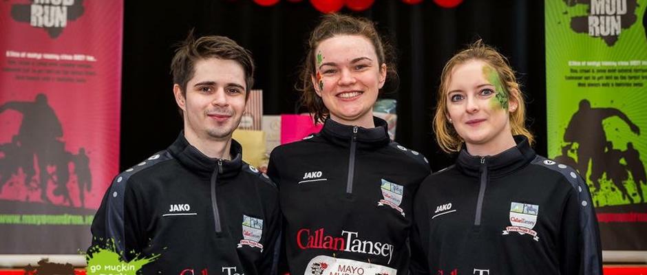 Callan Tansey Ballina Participate in Mayo Mud Run!