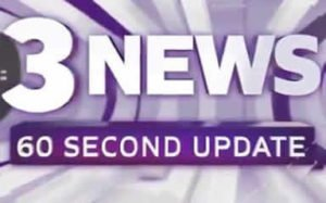3 News 60 second Update