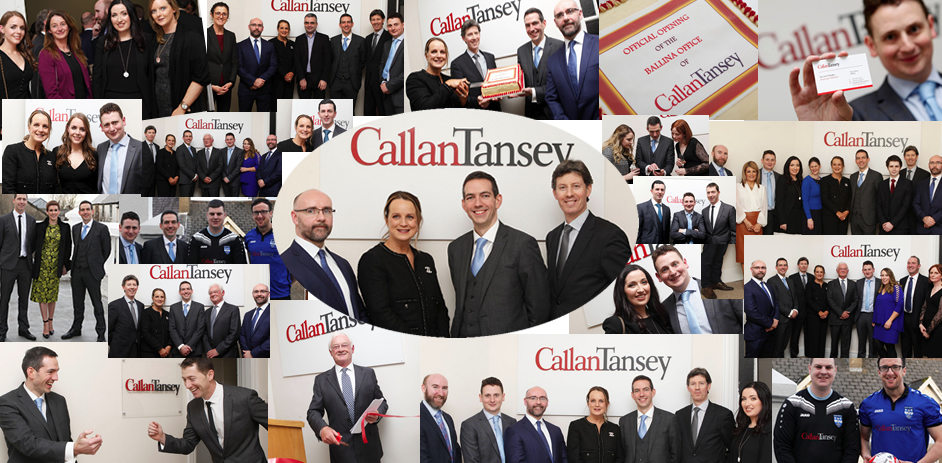 Callan Tansey staff celebrating new office opening in Ballina