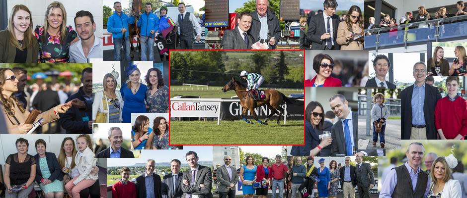 Callan Tansey at the Sligo Races