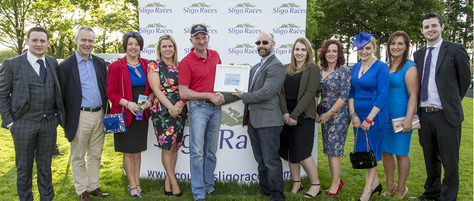 David O'Malley, Christopher Callan, Philomena Burke, Majella Coleman, John Kelly presenting the Winner of the Callan Tansey Race 2, Abby Livingstone, Eithne Devins, Barbara Golden Hogge, Natasha Harkin and Alan Martin