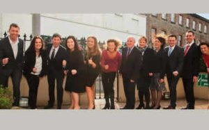 Sonia O Sullivan & David Matthews with Callan Tansey staff