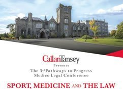 Callan Tansey Sport Medicine & The Law Conference