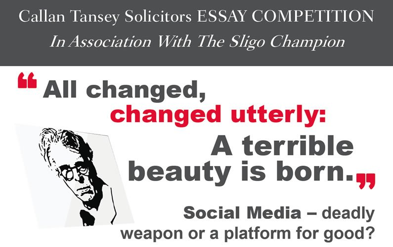 Callan Tansey Essay Competition 2018 Poster