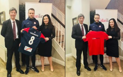 Callan Tansey Sponsorship with Sligo Rovers 2018/2019 Season