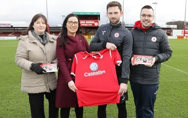 Callan Tansey announces Sponsorship Deal with Sligo Rovers for 2019