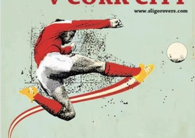 Sligo Rovers Match poster