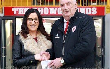 Callan Tansey Match Sponsor at Sligo Rovers