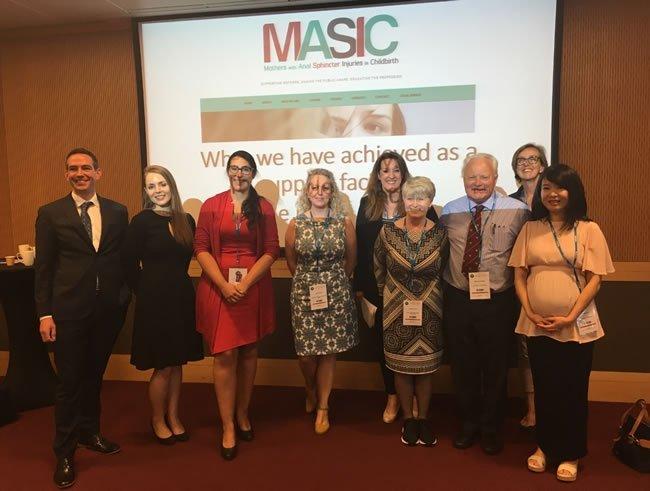 Sponsors & Speaker at MASIC Conference, Dublin