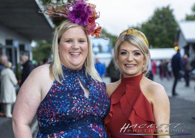 Sligo Races:Grainne Hattington, Helaine Burrows