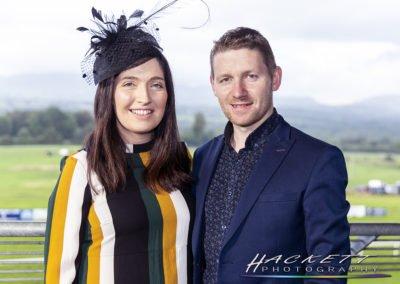 Sligo Races:  Caroline and Gavin McDonagh