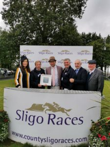 Callan Tansey sponsor the Callan Tansey Handicap Hurdle at Sligo Races