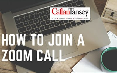 CALLAN TANSEY – HOW TO JOIN A ZOOM CALL IN 4 SIMPLE STEPS