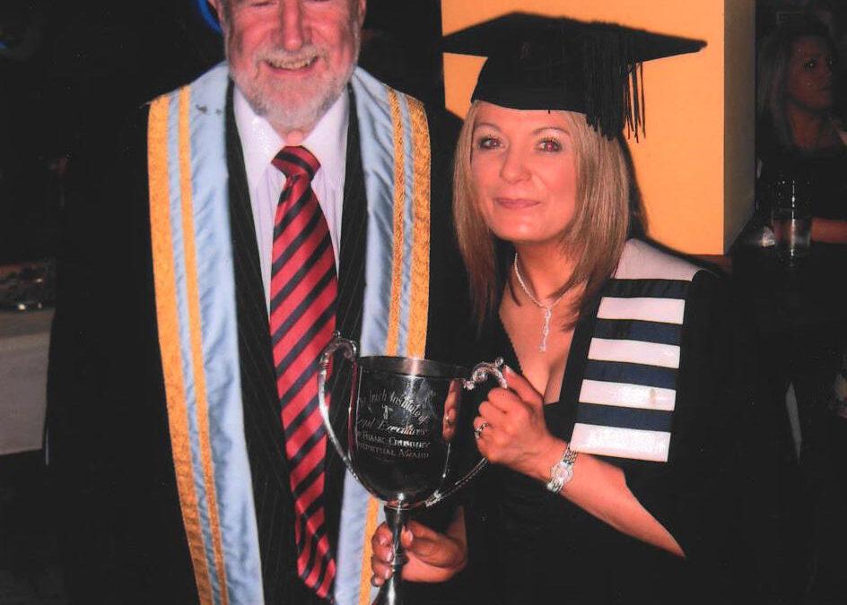 Helaine Trumble graduation image