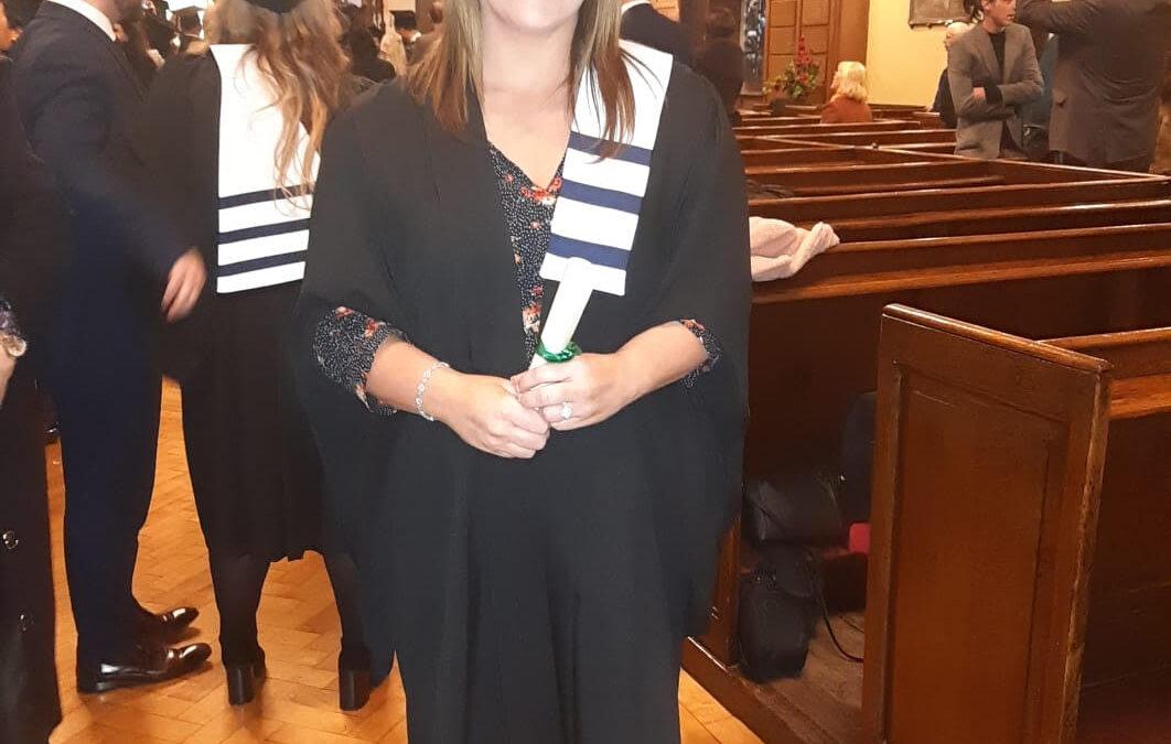 MajellaLynch Graduation photo