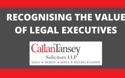 RECOGNISING THE VALUE OF LEGAL EXECUTIVES
