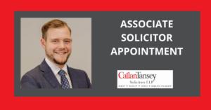 Johan Verbruggen Associate Solicitor Callan Tansey