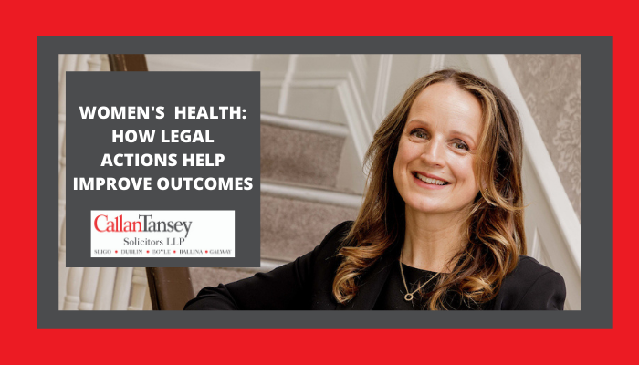 Women's Health: How Legal Actions Help Improve Outcomes