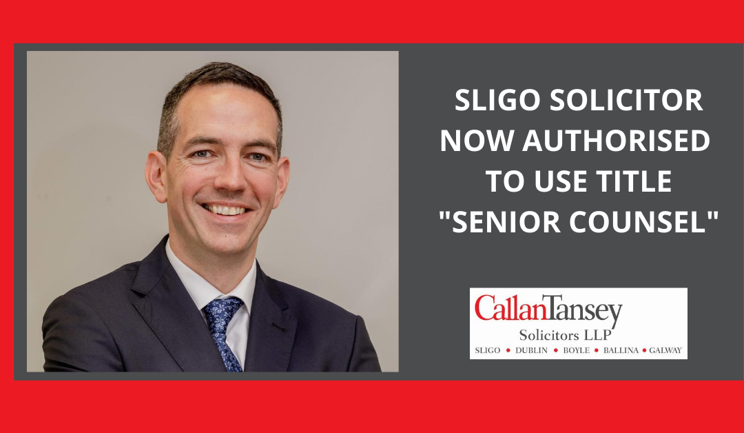 Historic Recognition for Sligo Solicitor