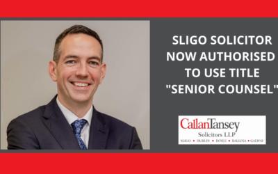 Historic Recognition for Sligo Solicitor