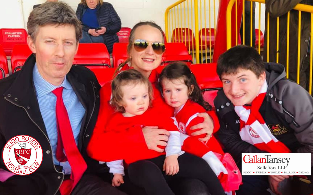 Callan Tansey Continues Sponsorship Of Sligo Rovers