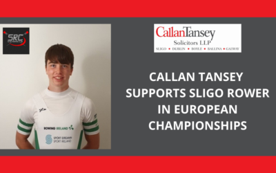 Callan Tansey Supports Young Irish Rower In Bid For European Glory