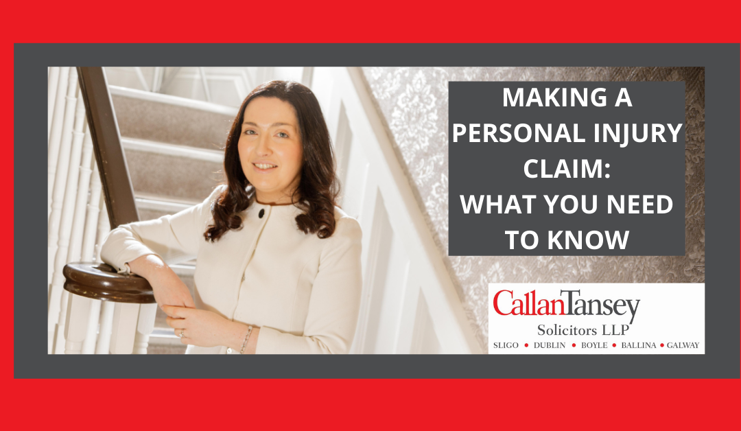 Making a Personal Injury Claim: What You Need To Know