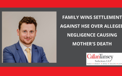 Family get settlement of €68,000 against HSE over alleged negligence causing mother's death