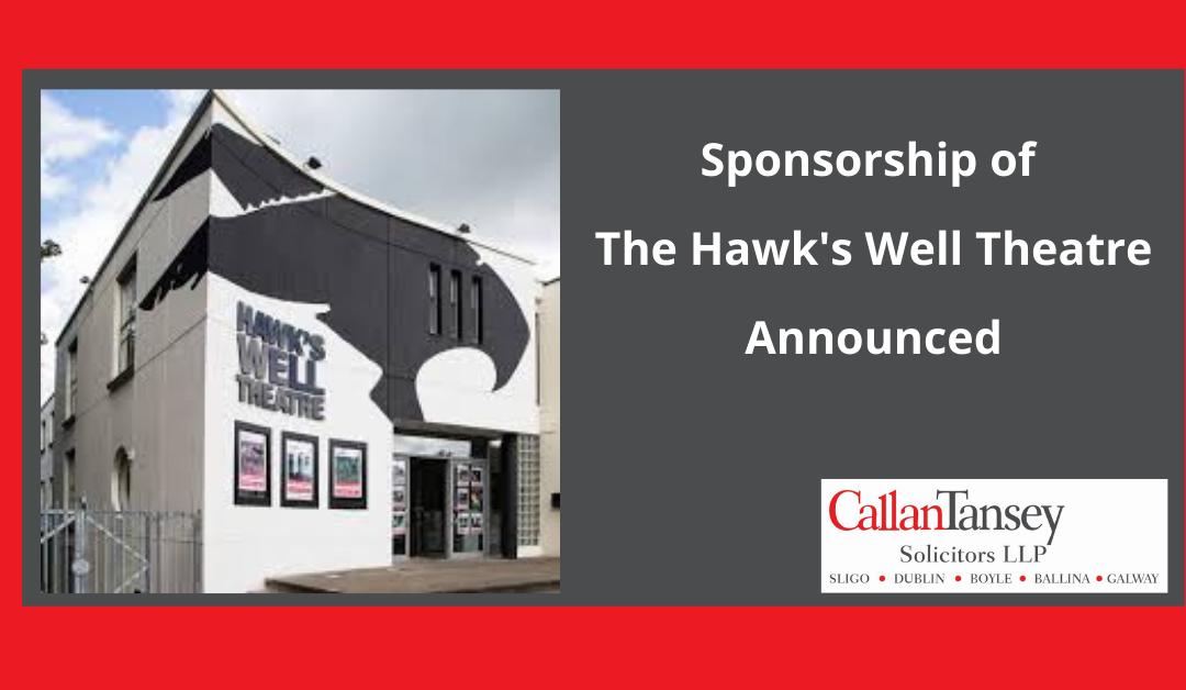 Sponsorship Of The Hawk's Well Theatre Announced