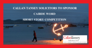 Callan Tansey sponsorship of Cairde Word
