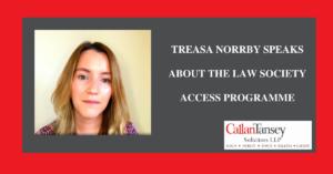 Treasa Norrby Access Programme Blogpost