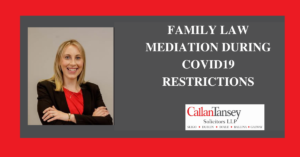 Mary McMoreland talks about family law mediation during Covid-19