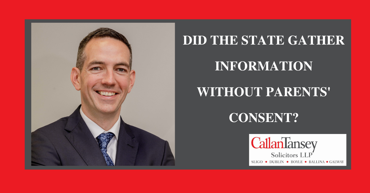 Did the State Gather Information Without Parents' Consent?