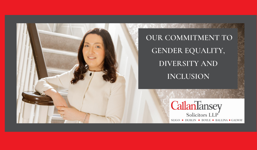 Our Commitment To Gender Equality, Diversity and Inclusion
